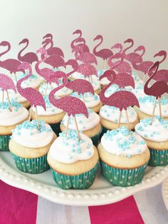 Pink and Blue Flamingo Birthday Party - Project Nursery