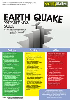 Disaster Survival Skills: Getting Ready for the Worst Disaster Survival Skills: Getting Ready for the Worst,Preparedness Know more about Earthquake Safety Tips Urban Survival, Survival Life, Survival Food, Survival Prepping, Survival Skills, Wilderness Survival, Survival Quotes, Survival Hacks, Survival Shelter