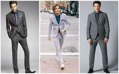Grey Suit Navy Shirt