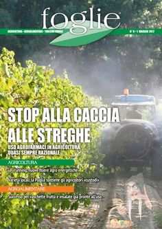 FOGLIE n.8/2017  AGRICOLTURA AGROALIMENTARE TURISMO RURALE
