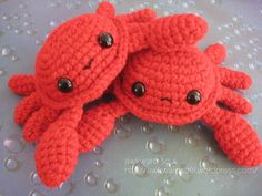 Crochet Toys Design Crab Amigurumi pattner by AwkwardSoul - Another pattern already? That was fast! Introducing Awkward Soul's CRAB AMIGURUMI I have an interesting crab story from my childhood. I was around 10 years old and was fishing off a dock. Kawaii Crochet, Cute Crochet, Crochet Crafts, Crochet Baby, Crochet Projects, Knit Crochet, Single Crochet, Funny Crochet, Crochet Birds