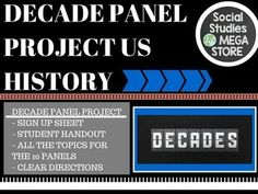 Decade Panel Project US History