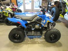 New 2016 Polaris Outlaw 110 EFI Voodoo Blue ATVs For Sale in North Carolina. 2016 Polaris Outlaw 110 EFI Voodoo Blue, Ask about our GREAT financing options and Extended Warranty!!!