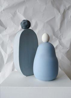 4 Blue vessels