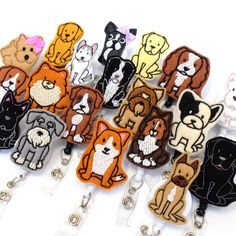 Lots of new breeds added for all the dog lover BadgeBlooms fans! Veterinarian G. Lots of new breeds added for all the dog lover BadgeBlooms fans! Veterinarian Gifts Vet Tech Badge Reels Felt Badge H