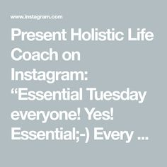 """Present Holistic Life Coach on Instagram: """"Essential Tuesday everyone!  Yes! Essential;-) Every Wednesday here at ElaViva the best tips about Aromatherapy and Aromathology.  Today we…"""" Wednesday, Tuesday, Yes, Aromatherapy, Essentials, Presents, Good Things, Life, Instagram"""