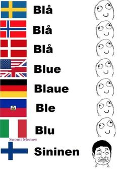 Finnish...
