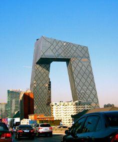 The CCTV building, Beijing, China