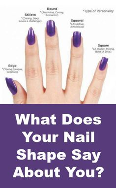What Does Your nail Shape Say About You? http://positivemed.com/2014/11/26/nail-shape-say/