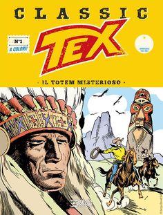 Capa da edição nº 1 de Tex Classic