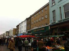 Portobello Market en Notting Hill (Londres)