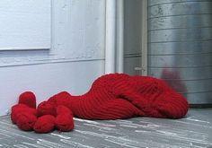 Crocheted Cocoon - Neatorama