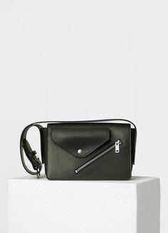 Medium Case Biker Shoulder Bag in Natural Calfskin - セリーヌについて
