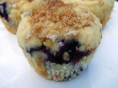 Paula Deen s Blueberry Muffins from Food.com:   								I found this recipe in Paula Deen's biography.  I love blueberry muffins and can't wait to try these!