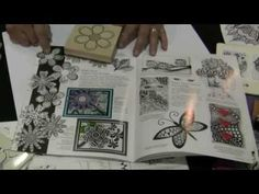 How to Zentangle with Suzanne McNeill