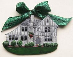 Do Not Purchase custom house ornament order by LittleMissDressUp, $46.00