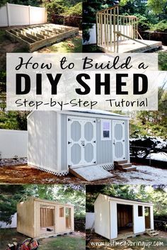 How to Build a Storage Shed - Easy Tutorial for DIYers