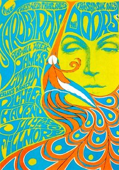 The late psychedelic rock poster art by teresa. I could adapt and use Fornasettie design on a doodle wall maybe? Poster Art, Kunst Poster, Poster Design, Gig Poster, Flyer Design, Rock Posters, Band Posters, Psychedelic Rock, Psychedelic Posters