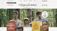 The Kings of Summer - wow great website!