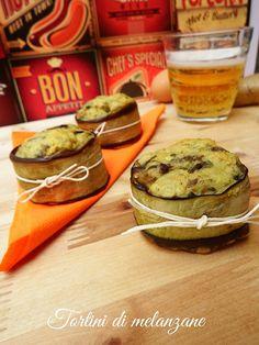 I tortini di melanzane sono un finger food che va servito rigorosamente freddo e che certamente vi farà fare un figurone :D