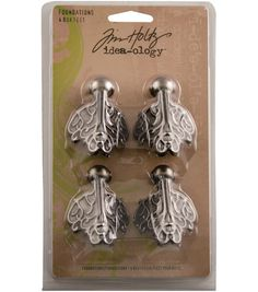 Tim Holtz Idea-Ology Foundations Box FeetTim Holtz Idea-Ology Foundations Box Feet, sale 4.99 joanns