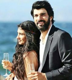 The Best TV Couple!! Tuba Buyukustun as Elif and Engin Akyürek as Ömer in the Turkish TV series KARA PARA ASK, 2014-2015. I have seen both Tuba and Engin in several films and their acting is good BUT as a couple in KARA PARA ASK THEIR ACTING AS A COUPLE WAS FANTASTIC! Black Money, Love is my favorite Turkish film so far.
