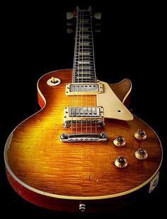 🎼The Gibson Les Paul Traditional🎼Murphy Aged lemon burst Gibson Sg Standard, Les Paul Standard, Vintage Electric Guitars, Cool Electric Guitars, Vintage Guitars, Epiphone Les Paul, Les Paul Custom, Paul Reed Smith, Andrew Jackson