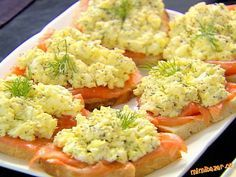 Look at this recipe - Smoked salmon and egg salad tartines - from Ina Garten and other tasty dishes on Food Network. Smoked Salmon And Eggs, Salmon Eggs, Salmon Lox, Smoked Salmon Salad, Food Network Recipes, Food Processor Recipes, Cooking Recipes, Egg Salad Recipe Ina Garten, Seafood Salad