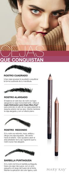 Define your face AND your brows with the Mary Kay® Brow Definer Pencil. Diy Makeup, Makeup Tips, Beauty Makeup, Makeup Hacks, Mary Kay Singapore, Maquillage Mary Kay, Mary Kat, Mary Kay Cosmetics, Fashion And Beauty Tips