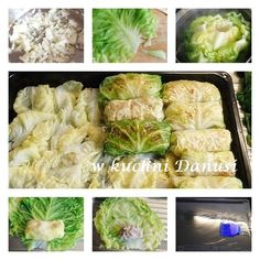 CO MI W DUSZY GRA: GOŁĄBKI PIECZONE W MŁODEJ KAPUŚCIE Sprouts, Cabbage, Food And Drink, Vegetables, Recipes, Dish, Polish, Recipies, Cabbages