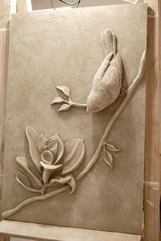 Lofty plaster wall art best interior sculptures mstor info perfect ideas images on incredible decoration uk is one of images from plaster wall art. Find more plaster wall art images like this one in this gallery Mounting idea for clay humming bird 275 bes Plaster Sculpture, Plaster Art, Plaster Walls, Sculpture Clay, Wall Sculptures, Sculpture Painting, Sculpture Ideas, Ceramic Sculptures, Animal Sculptures