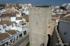 View from castle walls, Loulé, Algarve, Portugal. Photography by Julie Dawn Fox