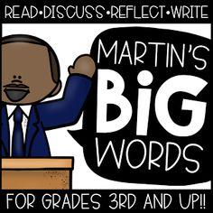 Martin's BIG Words for BIG Kids!! - Create●Teach●Share