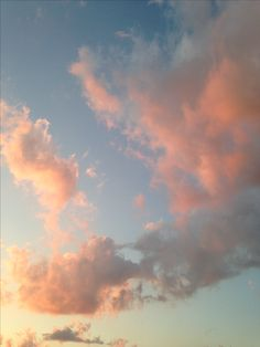 Cotten candy clouds