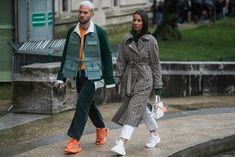 CHECK OUT MY BOARD FASHION COUPLES 2018:GERMAINE/Paris Fashion Week Men's Fall Winter 2018 Street Style Day 5