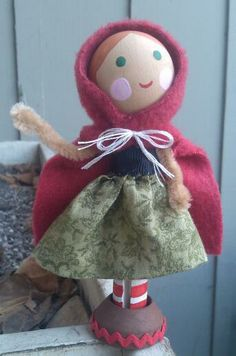 clothespin doll clothes patterns - Google Search   Peg Dolls ...