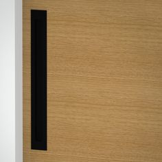 Milos - Flush Pull Handle - 348mm X 42mm - Matte Black (Each) Front Door Handles, Black Door Handles, Black Doors, Matte Black, Bathroom, Washroom, Black Front Doors, Full Bath, Black Door