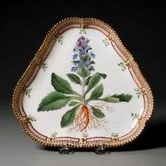Royal Danish Porcelain Factory; Dish, c. 1861-1863