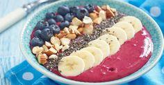 15 recettes santé de smoothie bowls gourmands, colorés et vitaminés   Fourchette et Bikini