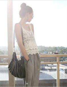 #Women #Tanktop #Outfit #Summer #Fashion #Musthave #VanillaCloset by VanillaCloset