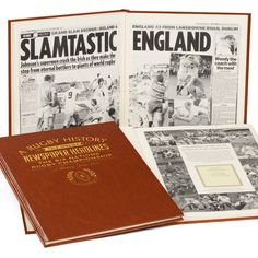Personalised Six Nations Rugby Book The Grand Slams, the Triple Crowns, the best Six Nations matches recorded as they happened. Personalisation Name (22 characters) and Message (5 rows, 30 characters per row ). Name embossed on the fron http://www.MightGet.com/january-2017-13/personalised-six-nations-rugby-book.asp