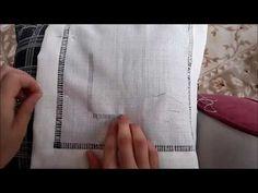 Köşe Nasıl Yapılır? Antikalı Köşe Yapımı - YouTube Hem Stitch, Chain Stitch, Embroidery Stitches, Hand Embroidery, Cut Work, Bargello, Hair Clips, Sewing, Pattern
