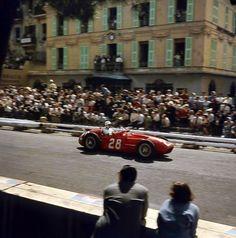 Stirling Moss Monaco 1956