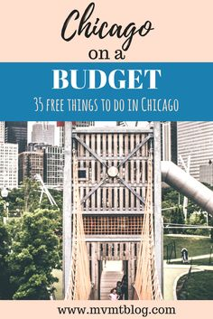 Want to visit Chicago on a budget? Here are 35 free things to do in Chicago, including where to find free beer and food! Click through to read now or pin for later!