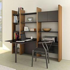 Semblance Ociate Contemporary Office Room Small Organization Solution Bdi Modern Furniture