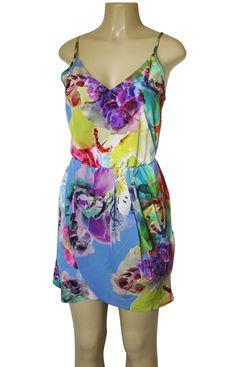 Amanda UPRICHARD Madison Dress Silk Floral Print