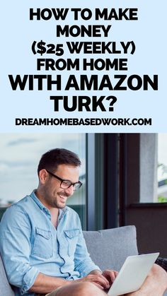Are you interested in making money online every day? If you have been looking for legit ways to make money from home, you can earn some extra money in your spare time by completing simple tasks with Amazon Mechanical Turk (MTurk) website. This is a great side hustle for anyone! #workathome #hustle #makemoneyonline Extra Money on Amazon Turk Easy Money Online, Earn Money Online Fast, Earn Money From Home, Online Jobs, Work From Home Companies, Work From Home Jobs, Make Side Money, Home Based Work, Jobs For Teens
