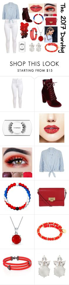 """If Dorothy Travel to 2017"" by sofiagarcia-27 ❤ liked on Polyvore featuring Catherine Catherine Malandrino, MAC Cosmetics, Forever 21, River Island, Lokai, Lodis, Bling Jewelry, Chrysalis and StingHD"