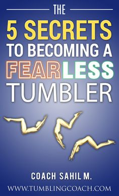 5 Secrets To Becoming A Fearless Tumbler Gymnastics Academy, Gymnastics Quotes, Gymnastics Workout, Gymnastics Conditioning, Flexibility Workout, Cheerleading, The Secret, Tumbler, How To Become