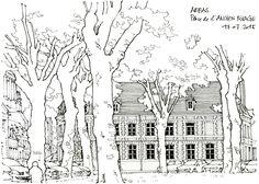 Arras, place de l'Ancien Rivage